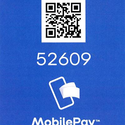 Nyt nummer til Mobilepay